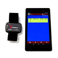 VertiMetric Jump Assessment System with Tablet