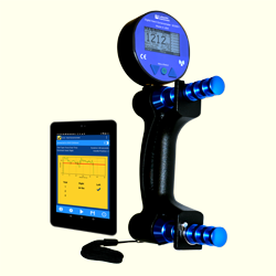 The Lafayette Digital Hand Dynamometer is designed with the same weight and form factor as all our other Hand Dynamometers, but can interact with our LEval application to store test scores and create normative data.