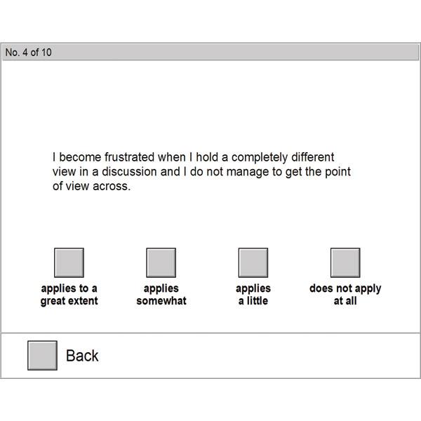 Customer Orientation Scale - SKASUK - 50 Administration License