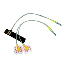 EDA Electrode Cable with Finger Plates