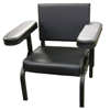 Black Adjustable Arm Subjects Chair