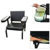 Vinyl Subject's Chair with Seat and Arm Activity Sensors