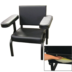 Vinyl Subject''s Chair with Seat Activity Sensor only