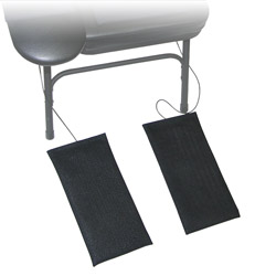 Activity Sensor Foot Pads for Portable Chair