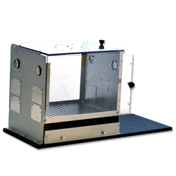 Front / Top Loading Operant Chamber for Rats with No Shock Floor