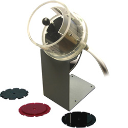 Pellet Dispenser with 45mg Interchangeable Pellet Size Wheel and Optional Stand