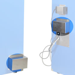 Baffle for Touch Screen Isolation Chambers