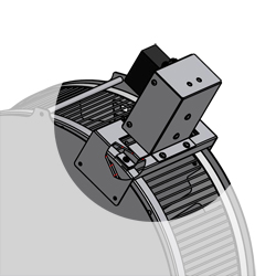 Servo Brake for 80859 Rat Activity Wheel