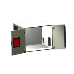 Large Sound Cubicle with Double Door and Window