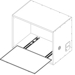 Pull Out Drawer Kit for 83017 series Sound Cubicles