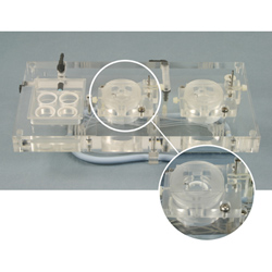 Acrylic Dual Channel Top Plate for Biochemistry