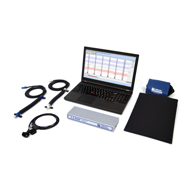 LX4000 Polygraph System with Laptop