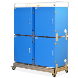 Trolley-Rack for Isolation Chambers