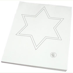 Package of 100 Replacement Tracing Stars for Mirror Tracer, Model 31010.
