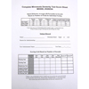 Score Sheets for Complete Minnesota Dexterity Test