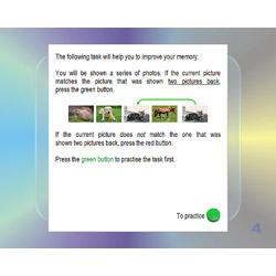 Working Memory: Updating - Visual (NBACK) Module