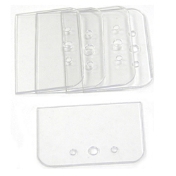 5 pack Replacement Clear Plastic Blade Guards