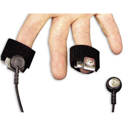 EDA Snap Finger Electrode Set with cable