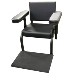 Vinyl Subject''s Chair with Feet Sensor only