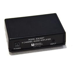 Four Channel Audio Amplifier