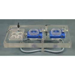 PTFE Dual Channel Top Plate for Biochemistry