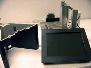 Disassembled Touch Screen System