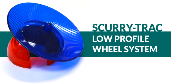 Scurry-Trac Low Profile Wheel System